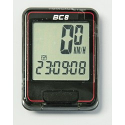 E14BC08B/R - Komputer Echo BC-8 8 funkcji czarno-czerwony