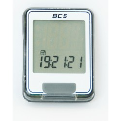 E14BC05W/G - Komputer Echo BC-5 5 funkcji biało-szary