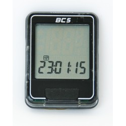 E14BC05B/S - Komputer Echo BC-5 5 funkcji czarno-srebrny