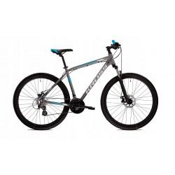 """SF3-NRX-DLO-C-L-P - Amortyzator NRX DLO 28"""" skok 75mm 1 1/8"""" 25cm AHEAD, sprężyna, blok. na goleni, oś 9mm, piwoty i dysk, czarny"""