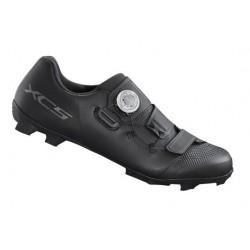 """SF3-NRX-DRL-C-M-D - Amortyzator NRX DLR 28"""" skok 75mm 1 1/8"""" 25cm AHEAD, sprężyna, blok. na kierownicy, oś 9mm, dysk, czarny mat"""