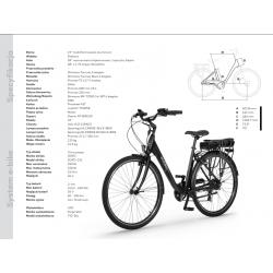 15100 - Lampa tył BLAZE, micro USB