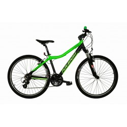 Rower 26 FUN SPORT 0.1 czarny mat/zielony 16,5''(42cm) - FUN17 0.1-16,5