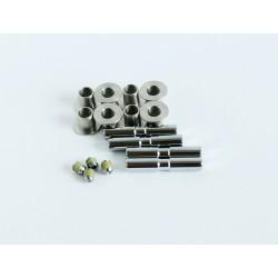 """Rower 28 VOYAGER 1.1 damski,biały/zielony mat 18""""(46cm) - VOY17 1.1-18"""