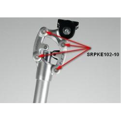 """Rower 28 VOYAGER 1.1 damski,biały/zielony mat 16,5""""(42cm) - VOY17 1.1-16,5"""