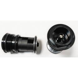 """Rower 28 BASIC 1.1 damski,błękitny/biały mat 18""""(46cm) - BAS17 1.1-18"""