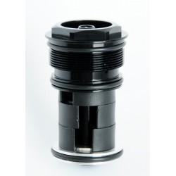"""Rower 28 BASIC 1.1 damski,błękitny/biały mat 16,5""""(42cm) - BAS17 1.1-16,5"""