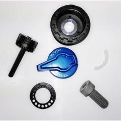 DC-A-PC928-L - Pedały alu.CNC łoż.maszynowe czarne