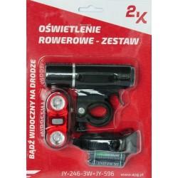 """Rower 28 VOYAGER 0.1 męski,czarny/niebieski mat 20,5""""(52cm) - VOY17 0.1-20,5"""
