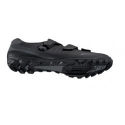 """SF4-XCR6-LO-C-L - Amortyzator XCR LO 26"""" skok 100mm 1 1/8"""" 25cm AHEAD, sprężyna, blok. na goleni, oś 9mm, dysk, czarny"""